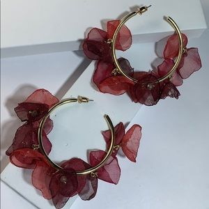 STELLA + RUBY HOOP EARRINGS!!